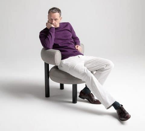 Tom Dixon in Fat chair