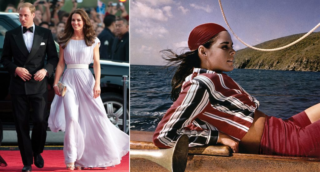 Prince William and Kate Middleton, Ali MacGraw