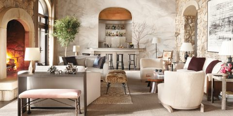 Wesley Moon alpine fantasy New Jersey living room On Style Carl Dellatore