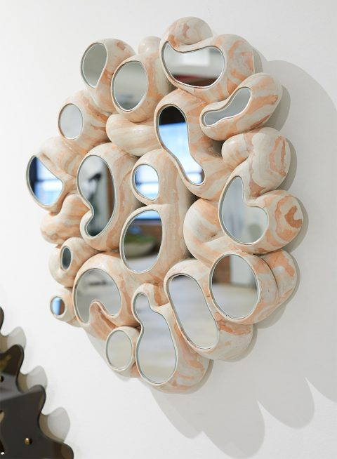 Goober Party wall mirror by Talbot & Yoon at Object Permanence at the 1stdibs Gallery