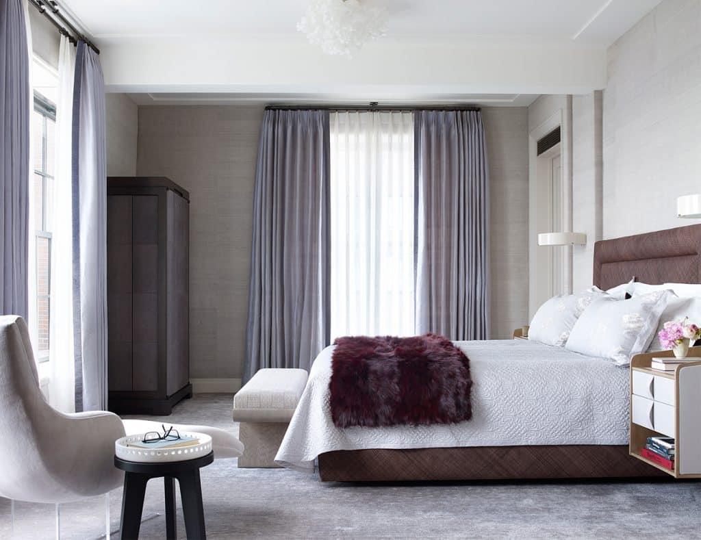Wesley Moon Greenwich Village master bedroom