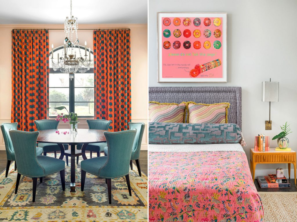 Cloth & Kind Florida dining room and guesr bedroom