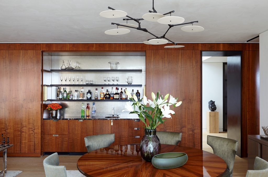 Interior designer Heather Wells architect Karen Conway home Boston dining area