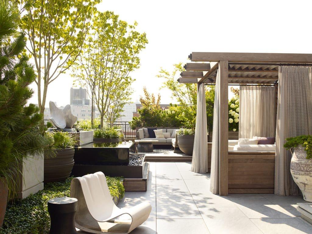 Wesley Moon Greenwich Village master terrace