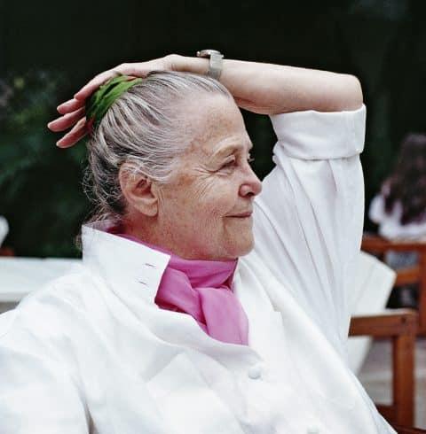 Charlotte Perriand in Rio, 1987