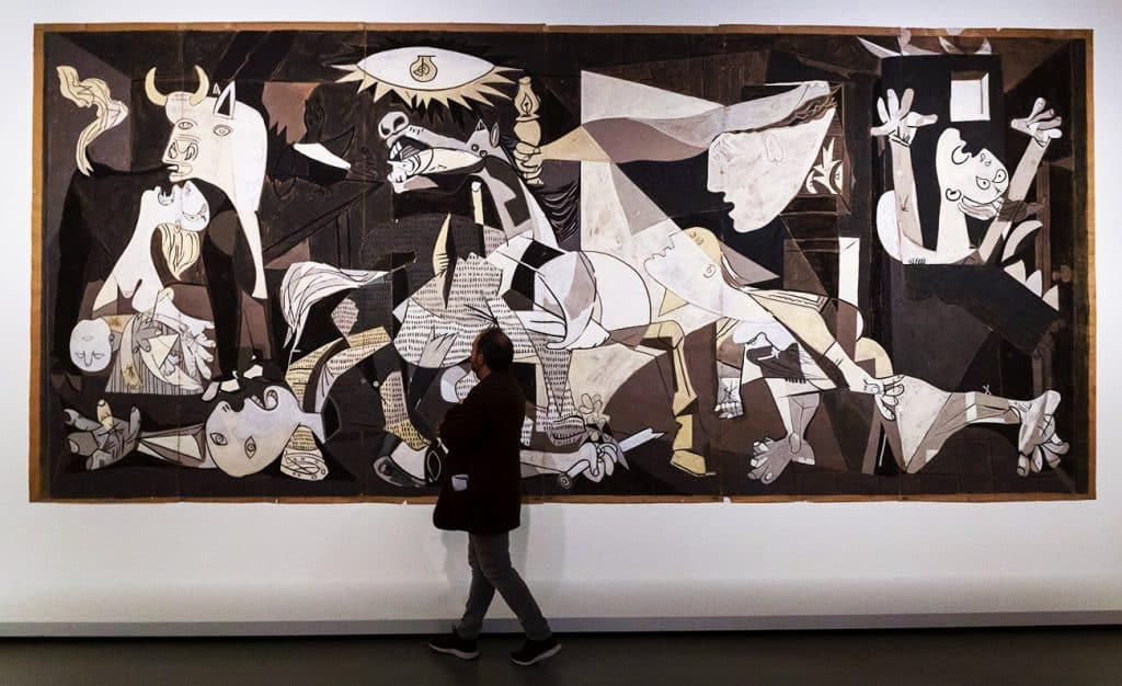 Charlotte Perriand Cartoon for the tapestry Guernica