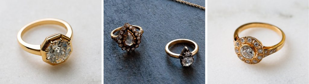 Single Stone diamond rings