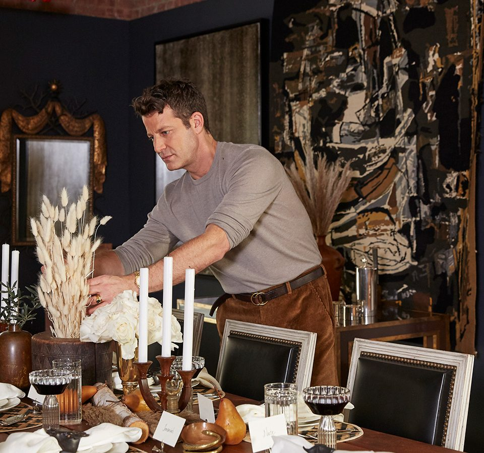 Nate Berkus Creates a Festive, Richly Layered Holiday Table