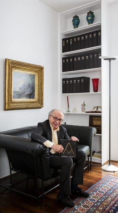 Francesco Soro in Milan apartment