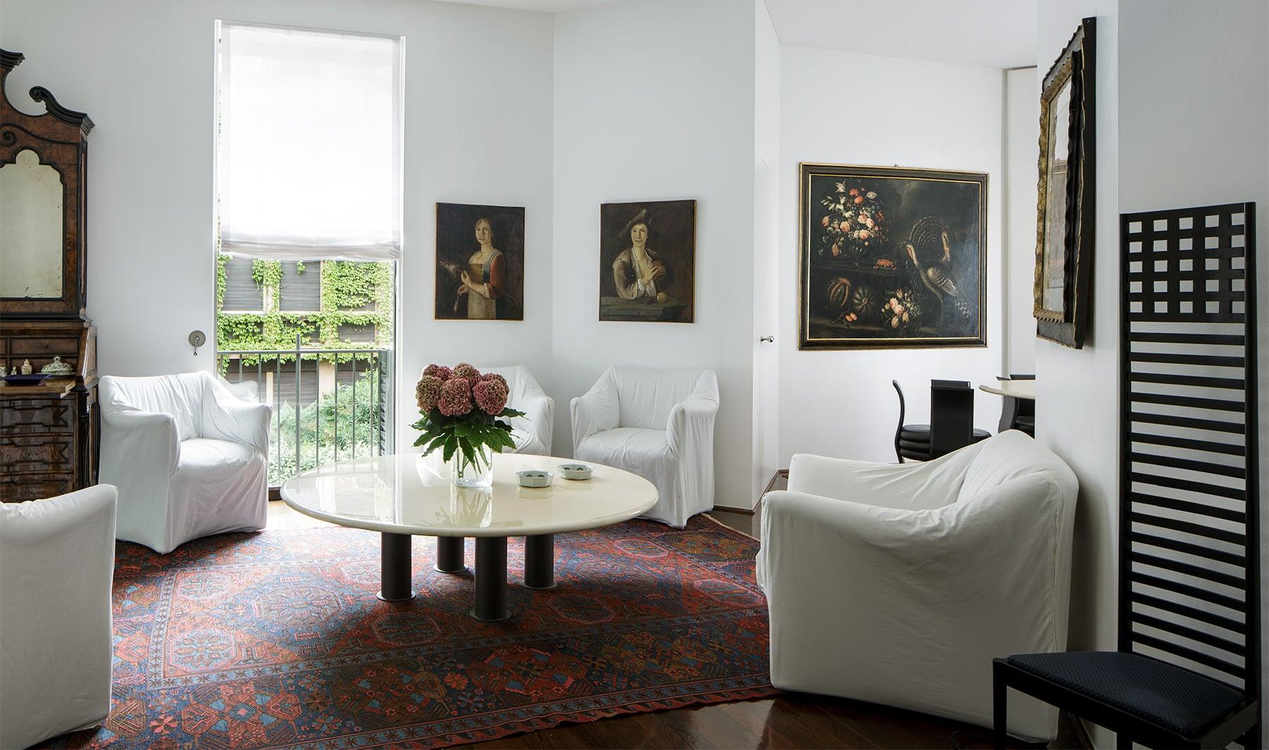 Francesco Soro's living room