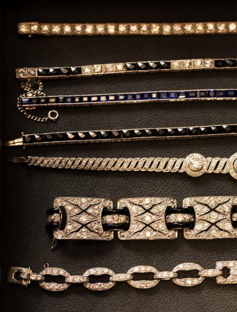 Fred Leighton diamond bracelets