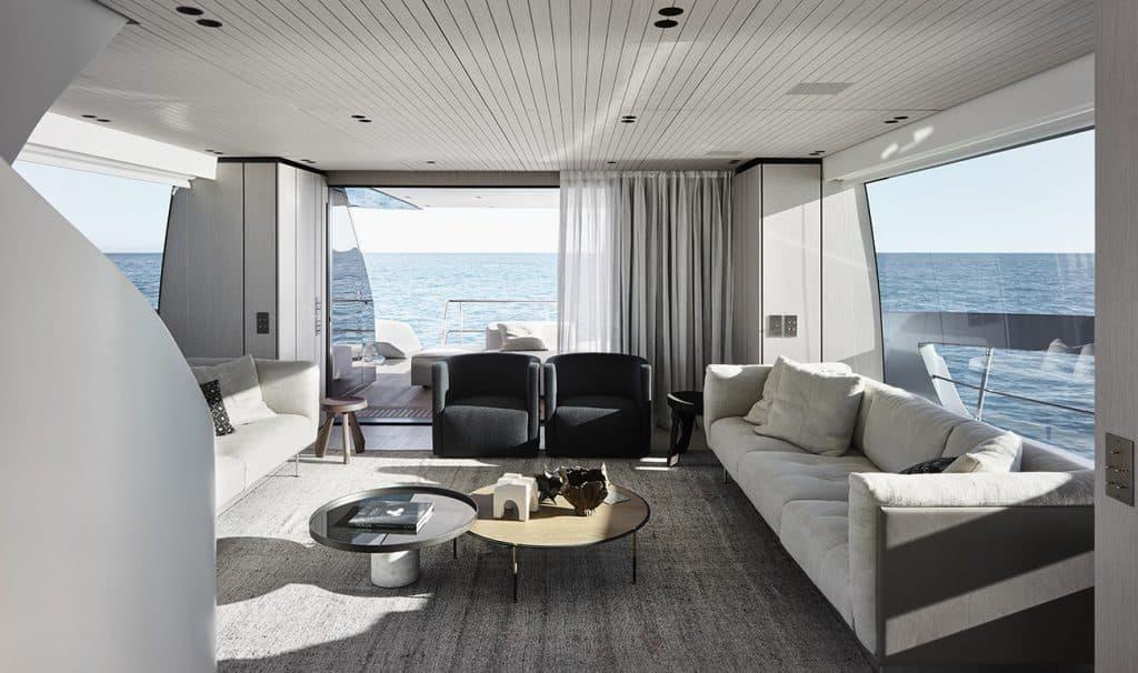 Piero Lissoni for Sanlorenzo yacht