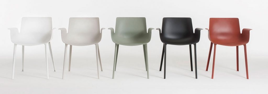 Piero Lissoni for Kartell Piuma chairs