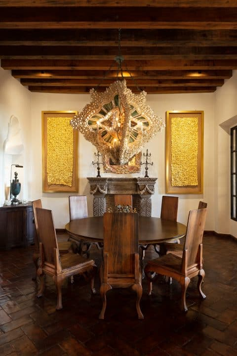 Fisher Weisman Mexico dining room