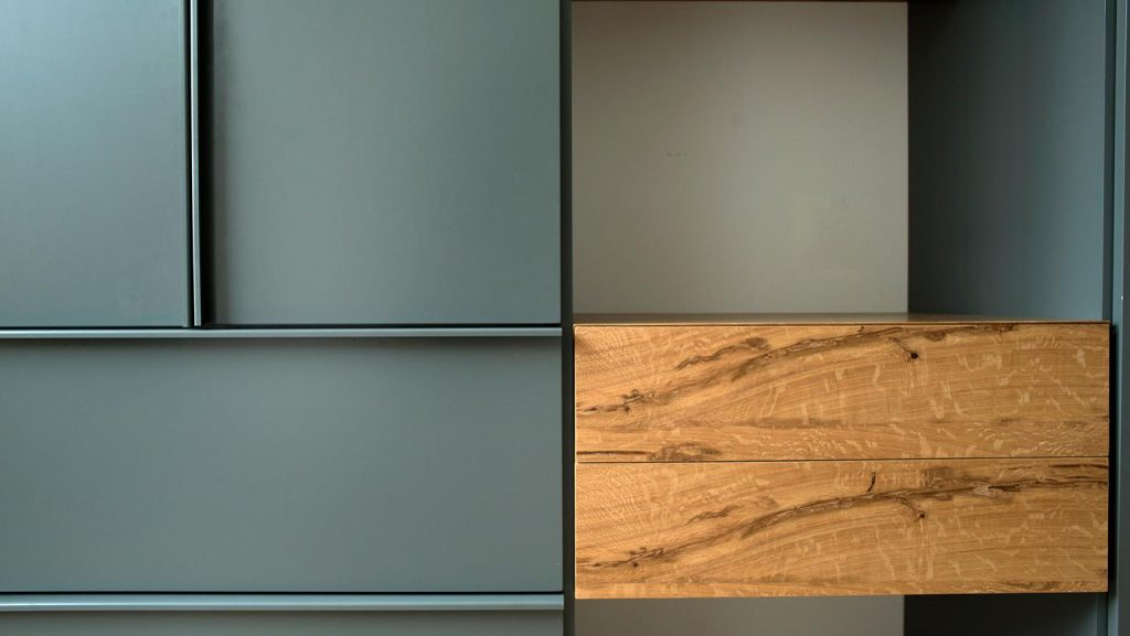 Milan furniture designer Giacomo Moor Oblò collection custom kitchen