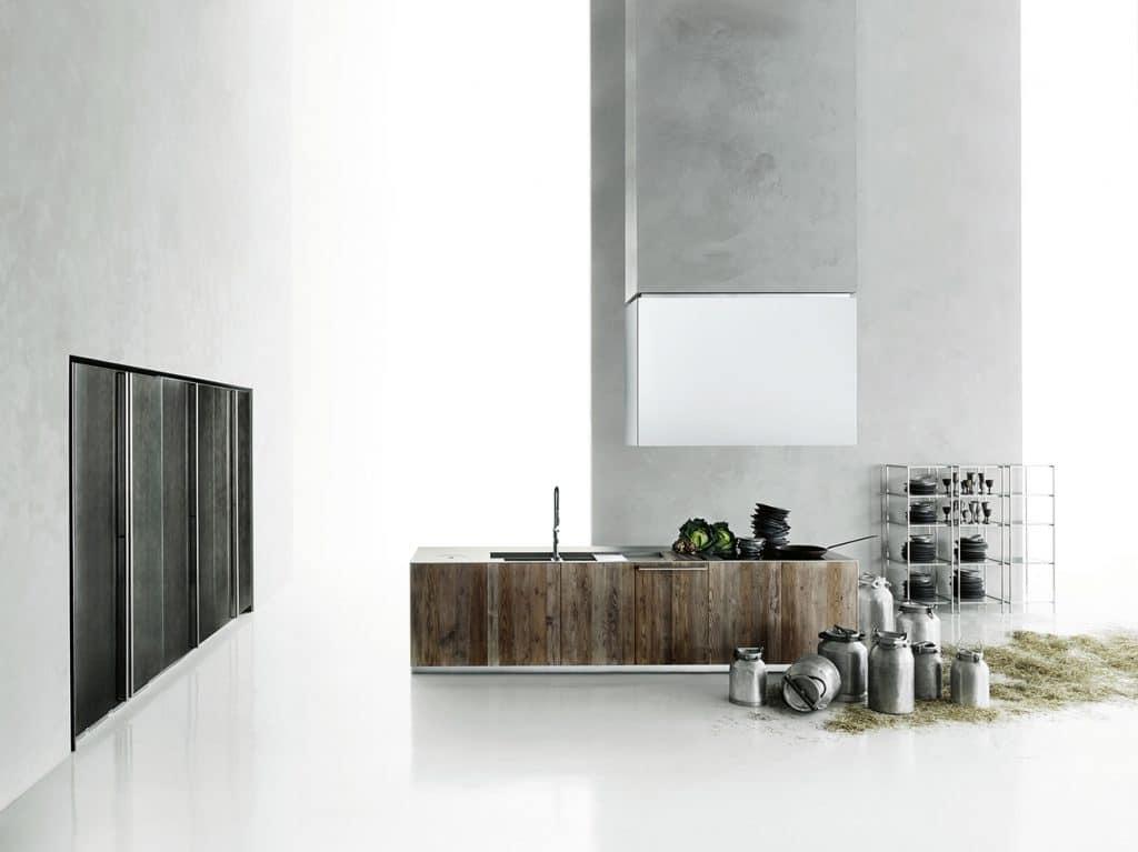 Piero Lissoni created the Aprile kitchen for Boffi
