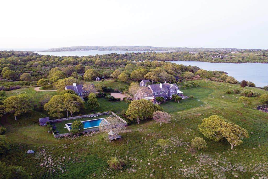 Jacqueline Kennedy Onassis's Red Gate Farm in Martha's Vineyard.