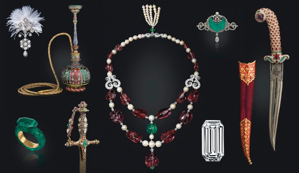 Jewels from the Christie's auction Maharajas & Mughal Magnificence.