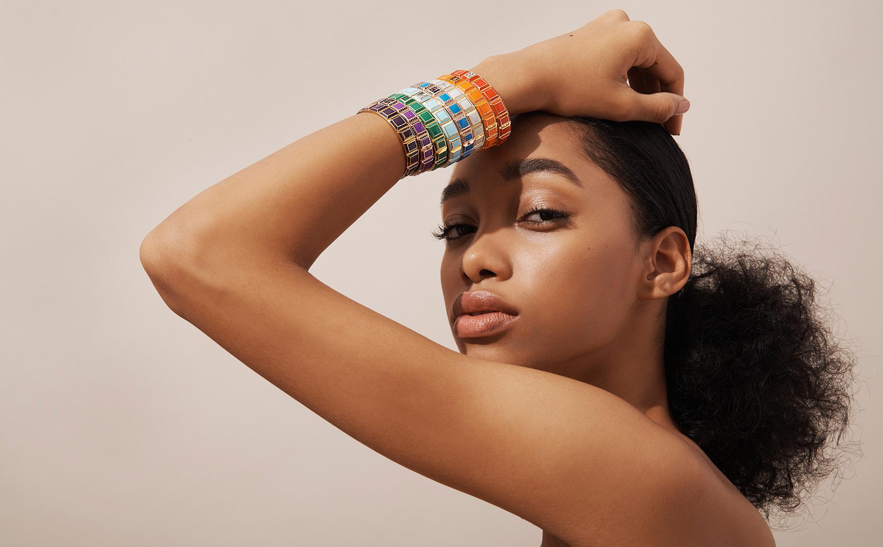 James Banks Carousel bracelets