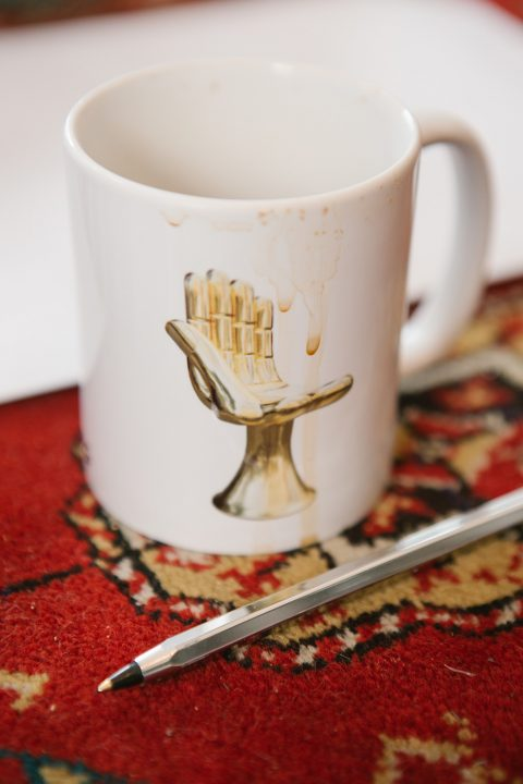 Pedro Friedeberg Hand-Chair mug
