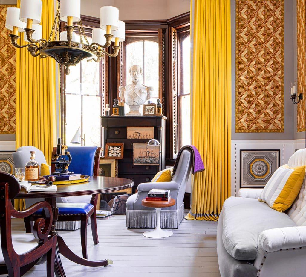 Kelee Katillac Blosser House gentleman's drawing room