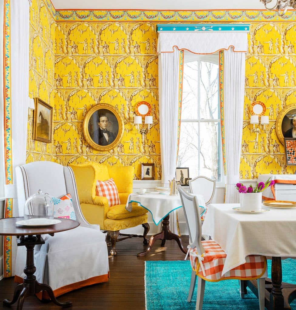 Kelee Katillac Blosser House dining room