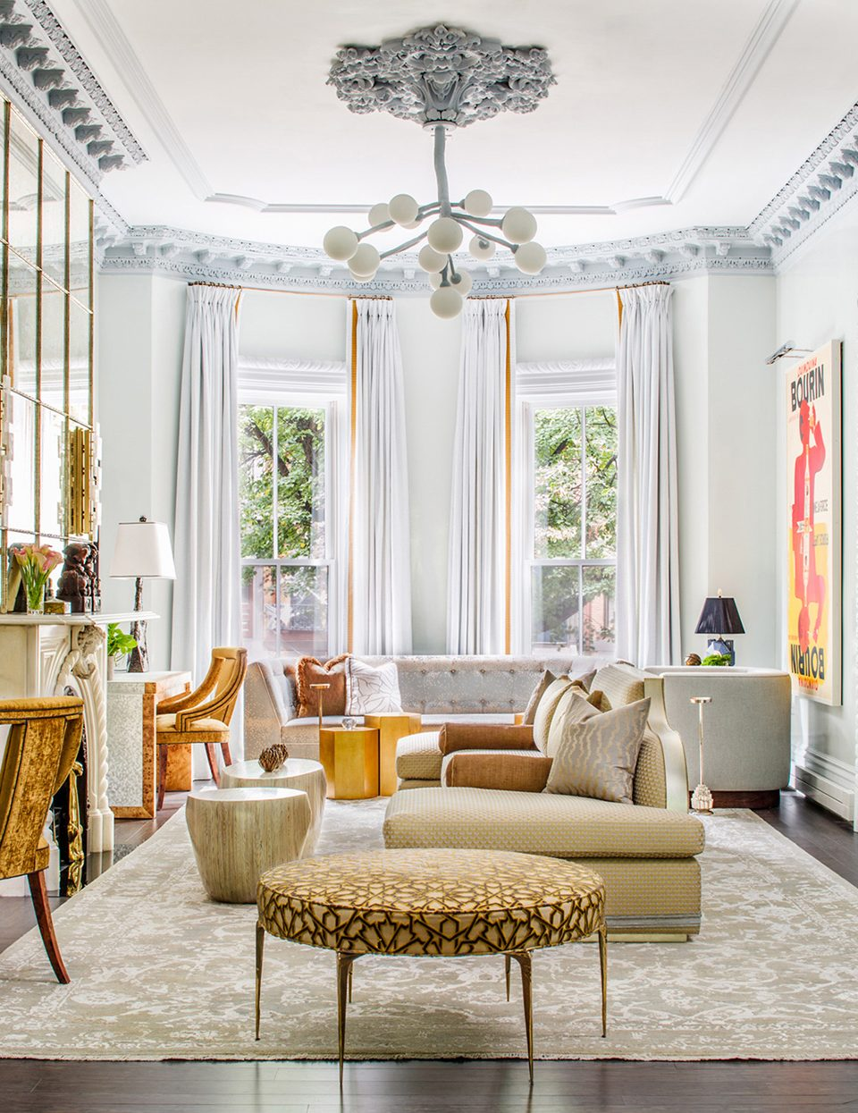 In This Boston Townhouse, Victorian Elegance Meets Neo-Deco Splendor