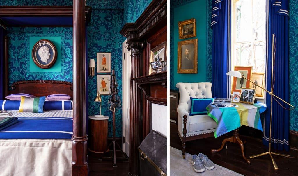 Kelee Katillac Blosser House gentleman's bedroom