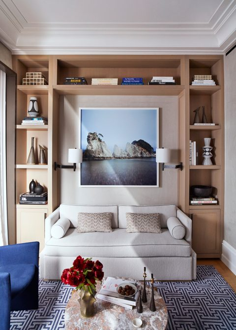 Meyer Davis Manhattan duplex home office