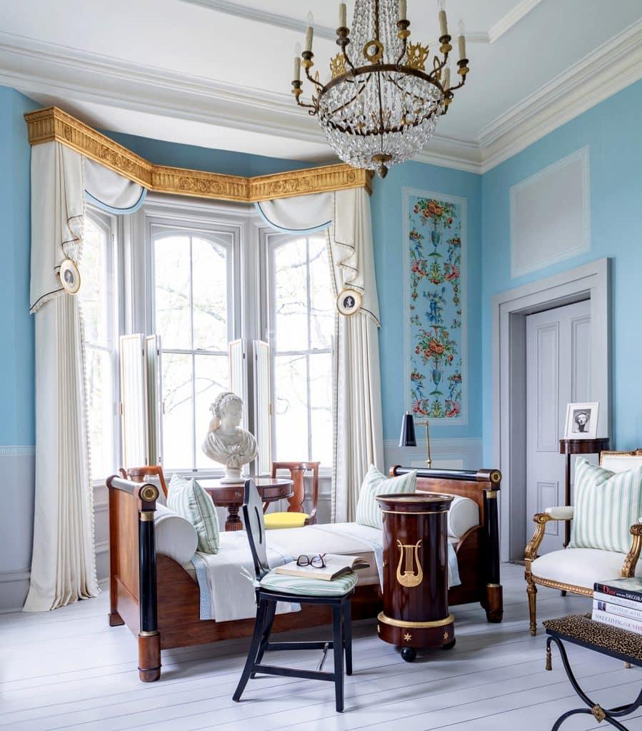 Kelee Katillac Blosser House ladies' drawing room