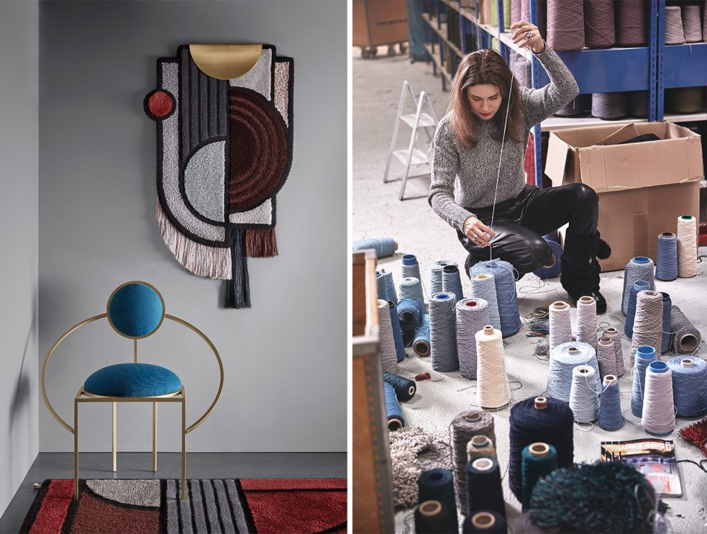 Lara Bohinc x Kasthall North Pole Wall Hanging