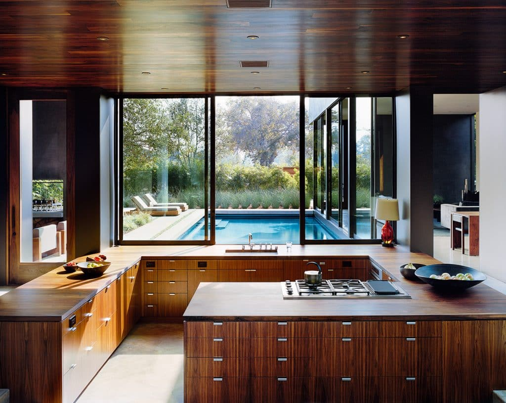 Site: Marmol Radziner in the Landscape Venice Los Angeles house kitchen