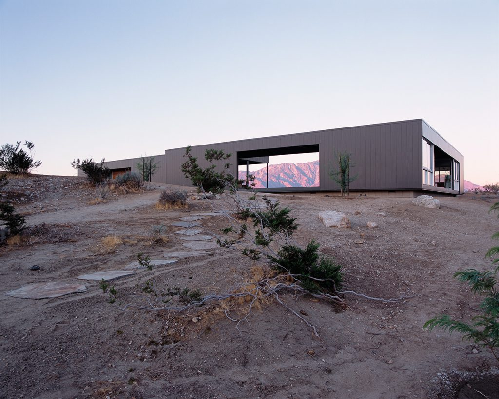 Site: Marmol Radziner in the Landscape Desert Hot Springs California house exterior