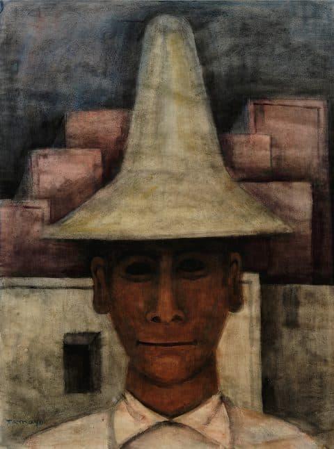 Rufino Tamayo, Man with Tall Hat (Hombre con sombrero alto), c. 1930
