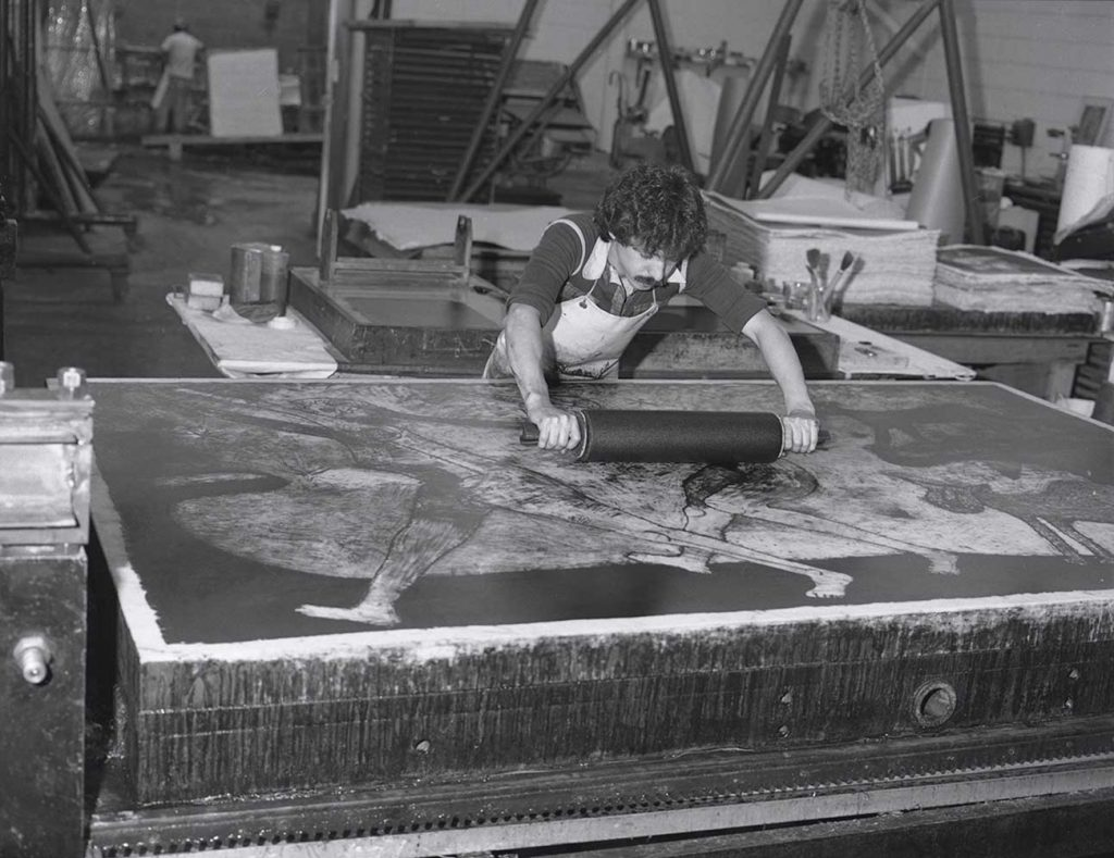 Rufino Tamayo printmaking