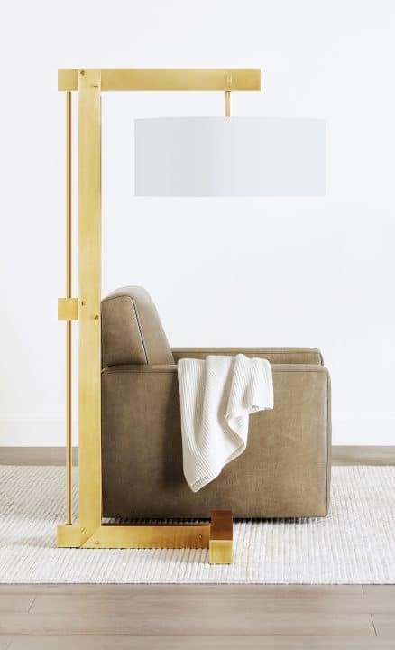 Ben Soleimani Weston floor lamp Sussex chair