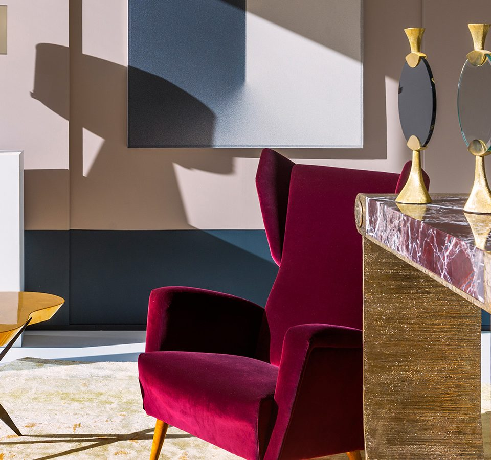 Achille Salvagni's Edgy Interiors Are Infused with Traditional Italian Design