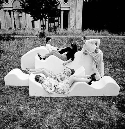 Italian Radical design Museum of Fine Arts Houston Dennis Freedman collection Archizoom Superonda sofa