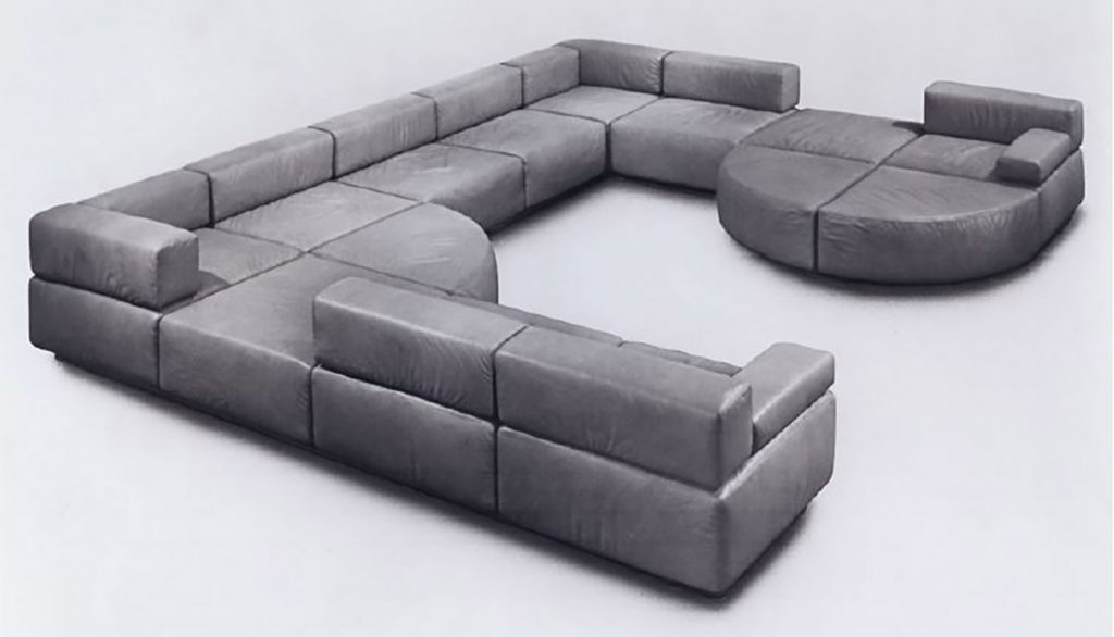 Harvey Probber modular sofa