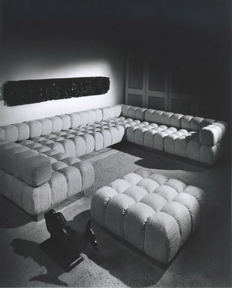 Harvey Probber tufted sofa