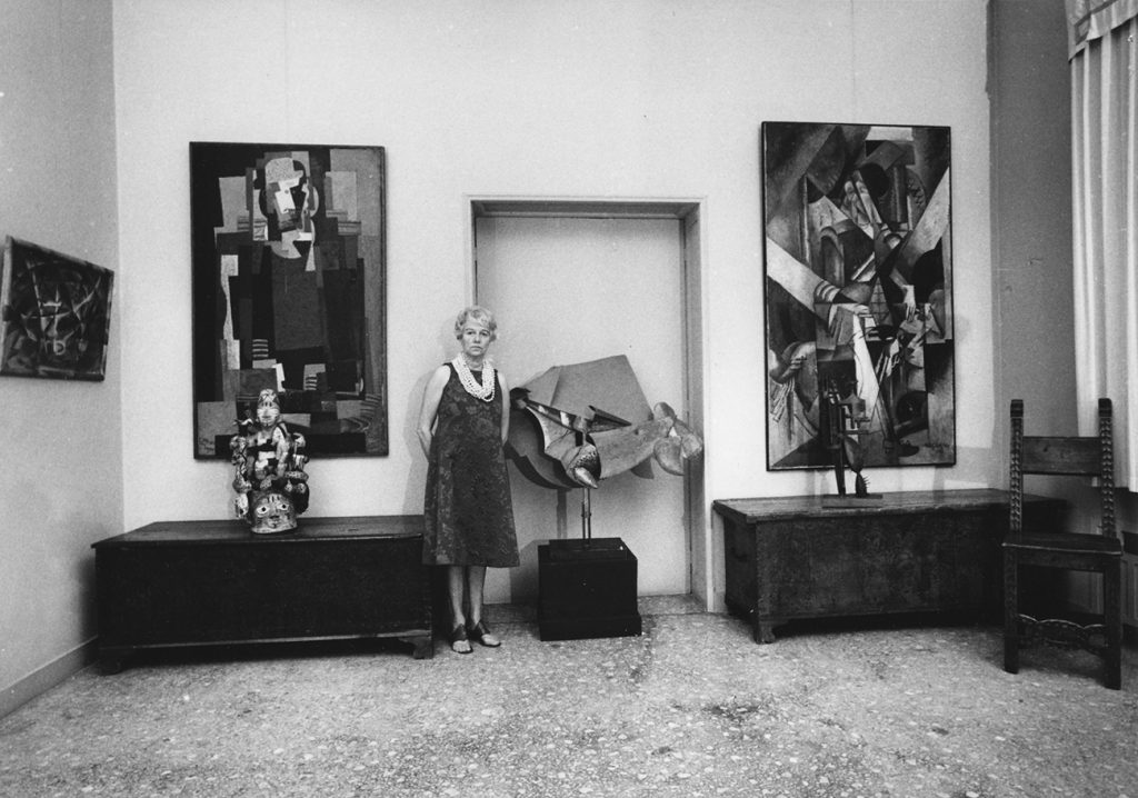 Peggy Guggenheim Collection tribal art non-Western art Oceanic African Indigenous Americas palazzo