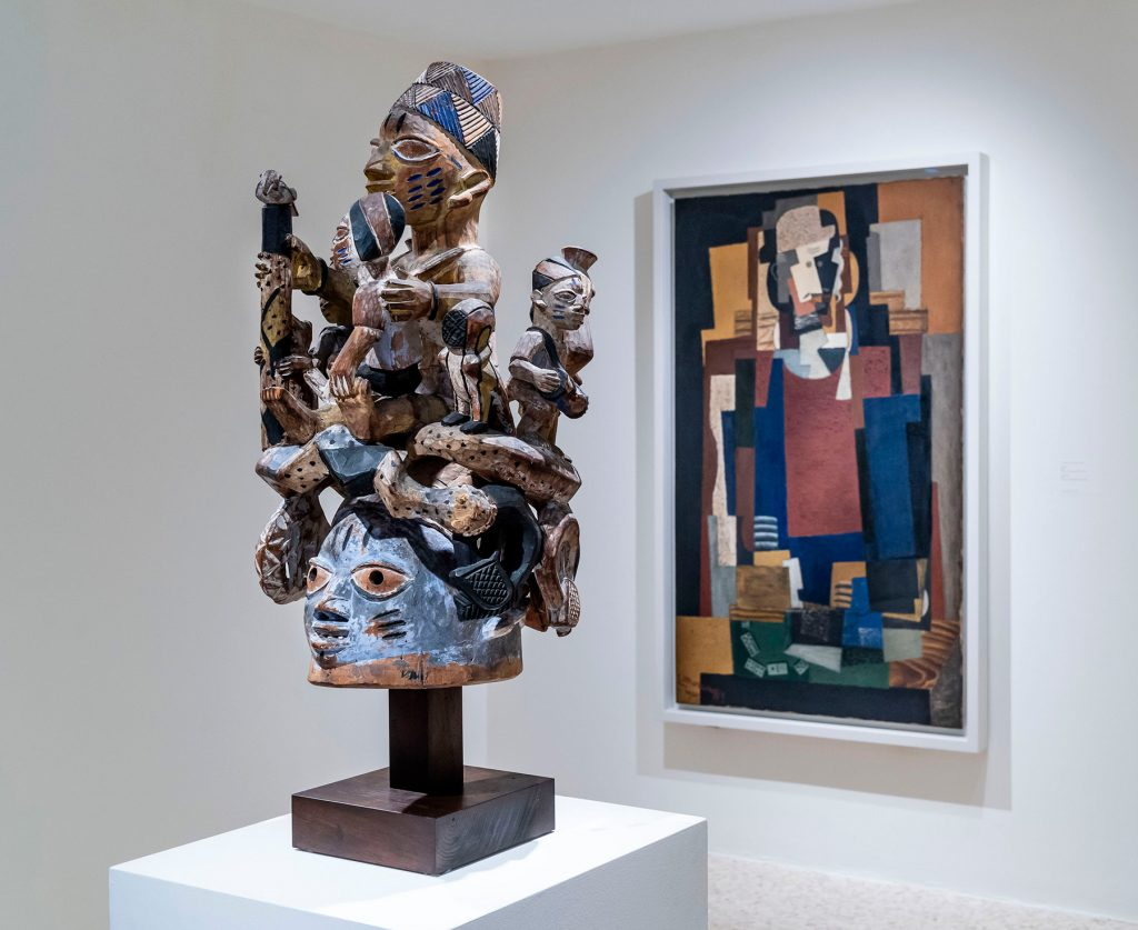 Migrating Objects: Arts of Africa, Oceania, and the Americas in the Peggy Guggenheim Collection Louis Marcoussis  L'Habitué (The Regular) Yoruba Ago Egungun headdress