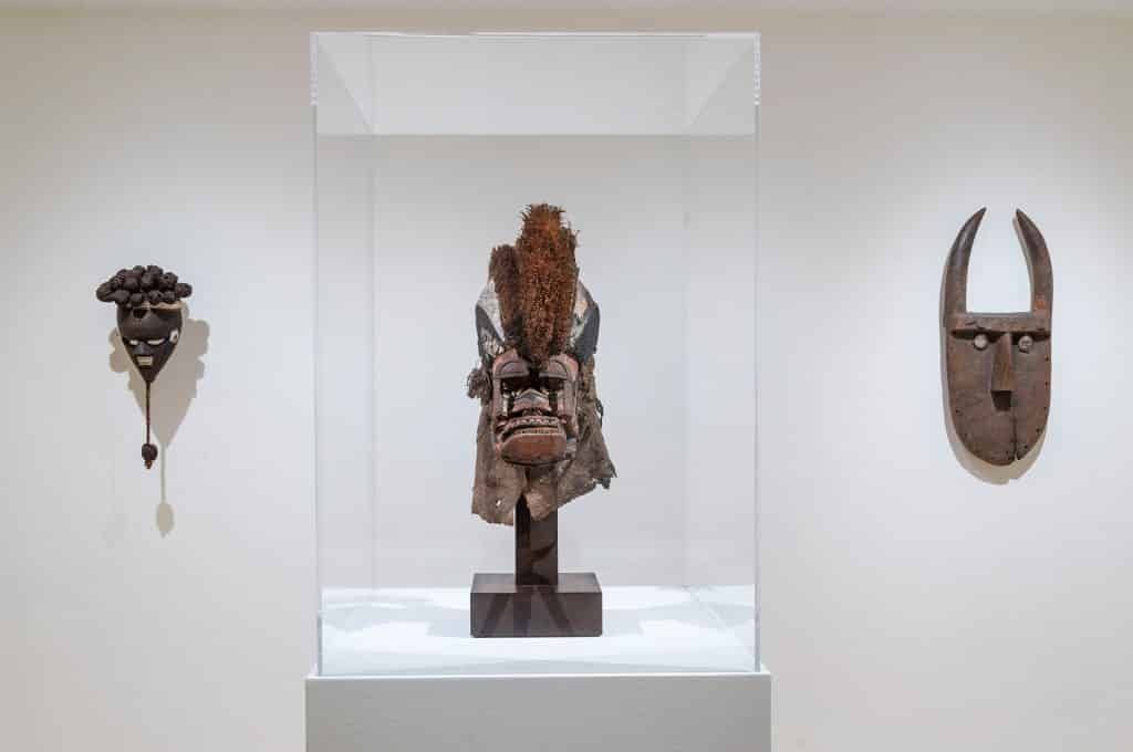 Migrating Objects: Arts of Africa, Oceania, and the Americas in the Peggy Guggenheim Collection headdresses and masks