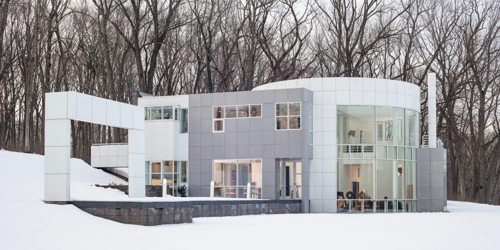 Louis and Sandy Grotta Richard Meier house New Jersey