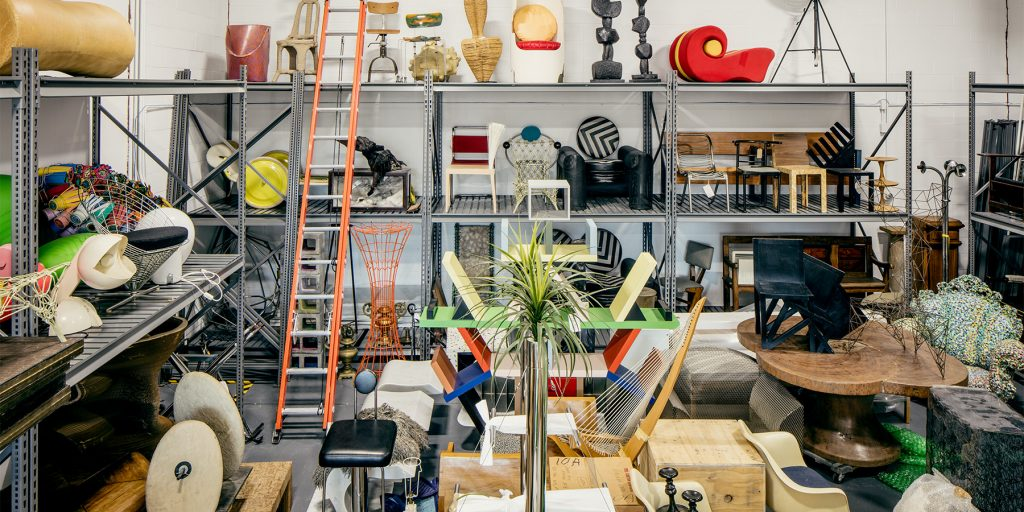 Italian Radical design Museum of Fine Arts Houston Dennis Freedman collection warehouse Hamptons