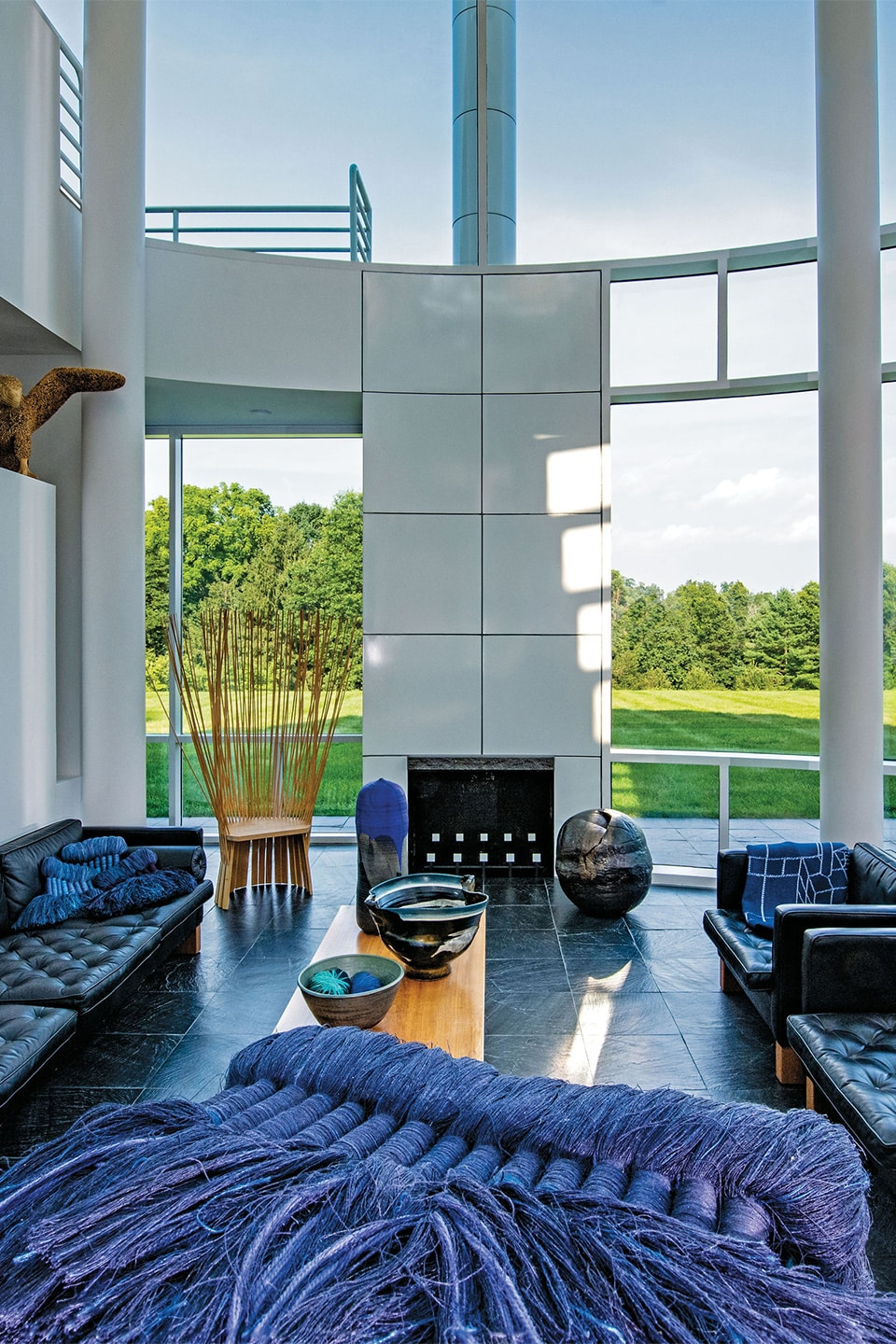 Tour a Richard Meier–Designed House That Celebrates American Craft