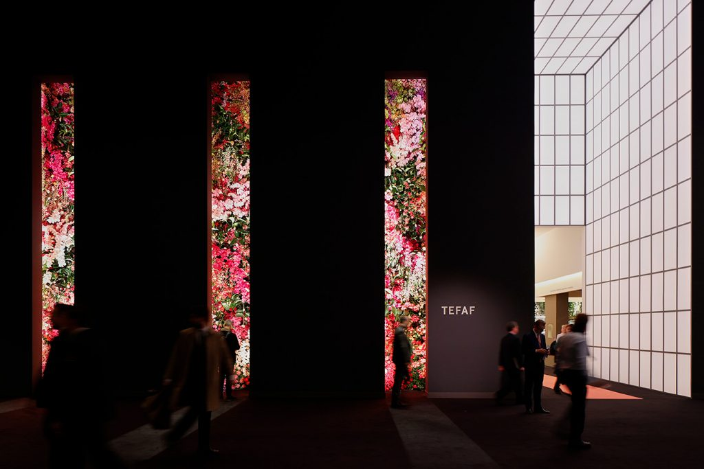 TEFAF Maastricht 2020 entry flowers