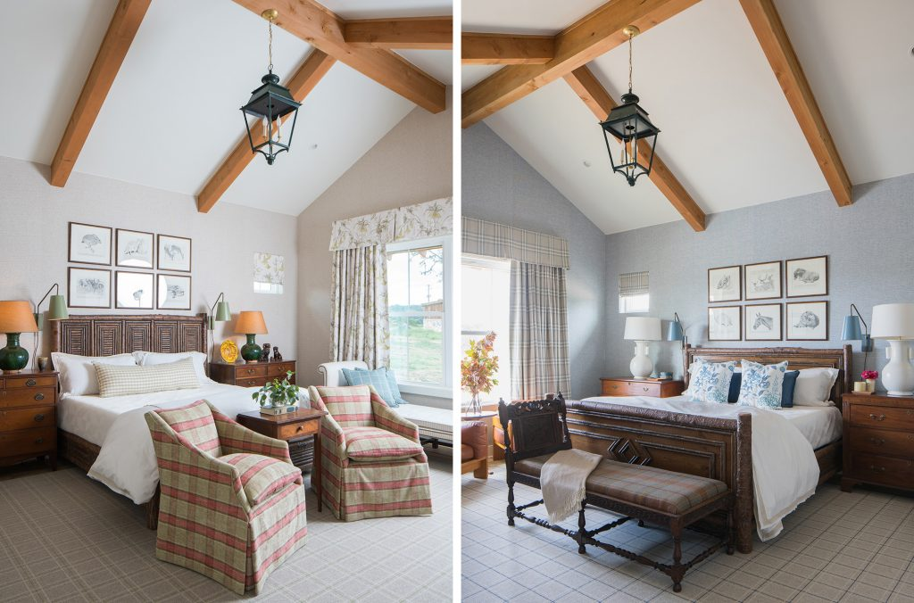 Texas interior design Melissa Morgan M Interiors Fredericksburg guesthouse bedrooms