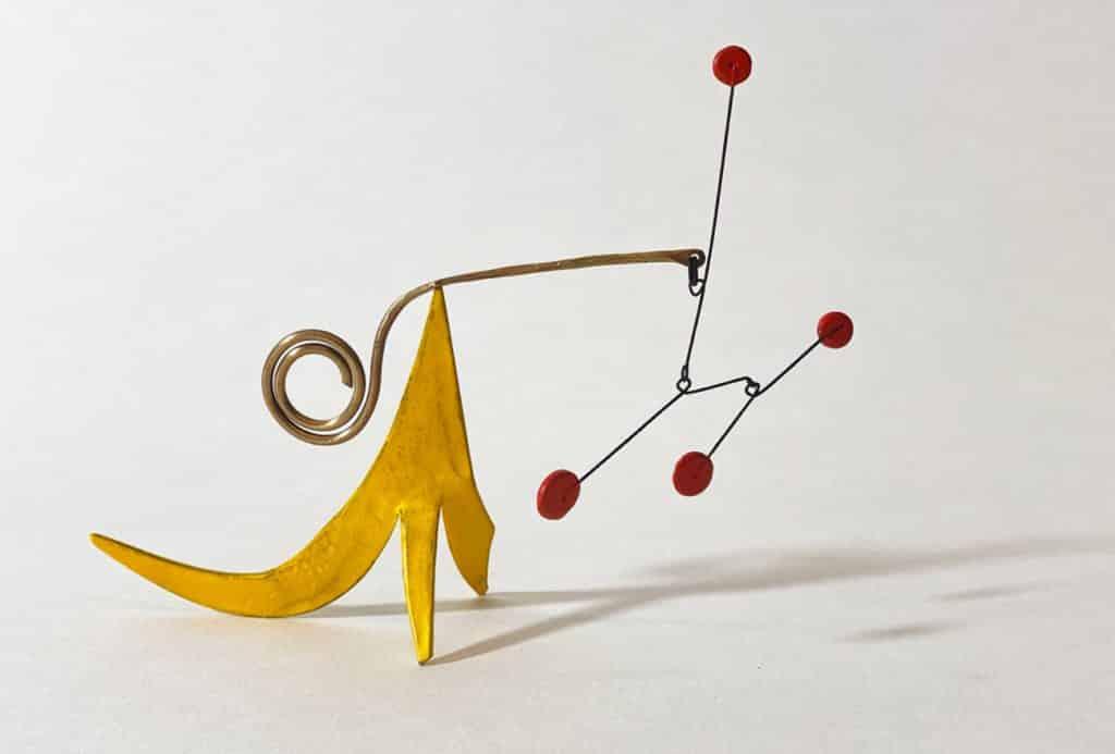 TEFAF Maastricht 2020 Van de Weghe Fine Art Alexander Calder mobile