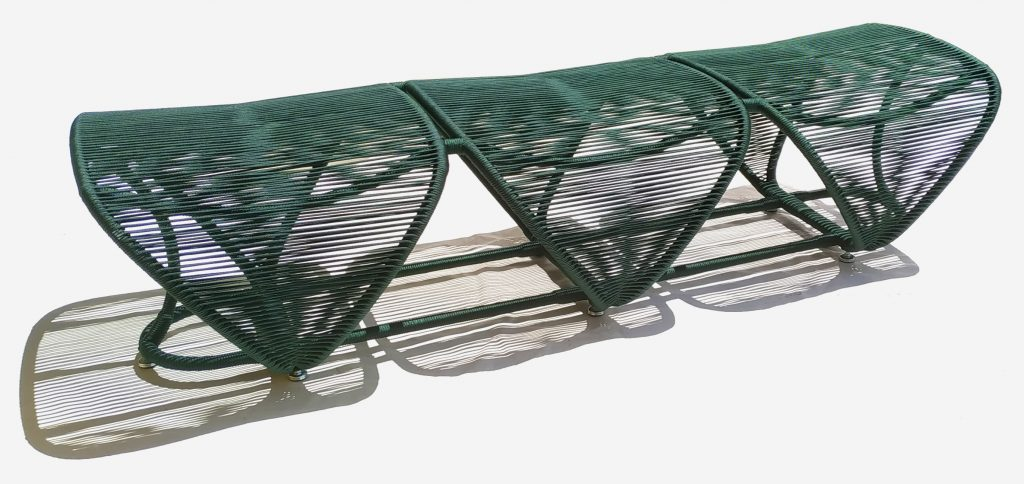 Sergio Matos's Tatuarana bench